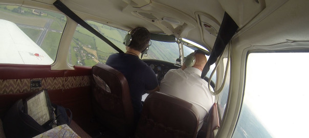Overhead join at Wolverhampton Halfpenny Green Airfield for Runway 04